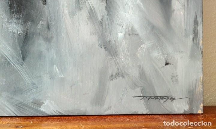 Arte: Oleo sobre Tela. Tibor Nagy. Ghost Town - Ciudad Fantasma - Foto 7 - 140513354