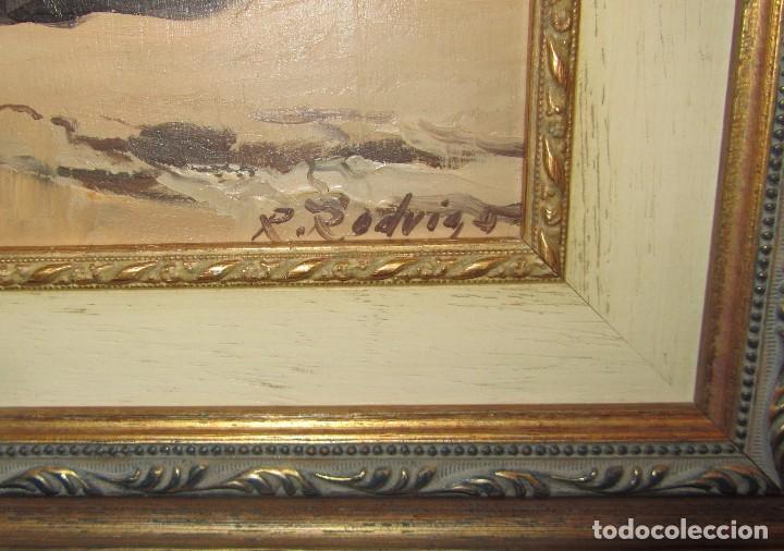 Arte: Óleo sobre tabla de Jose Luis Ramos Rodrigo, R. Rodrigo - Foto 2 - 140515766