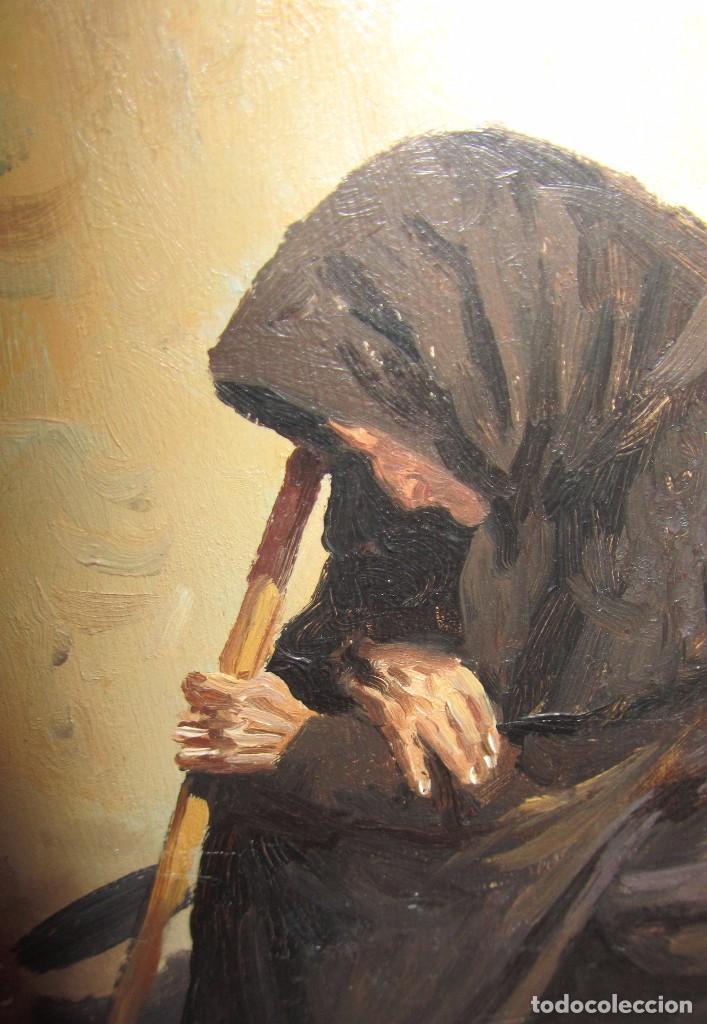 Arte: Óleo sobre tabla de Jose Luis Ramos Rodrigo, R. Rodrigo - Foto 4 - 140515766