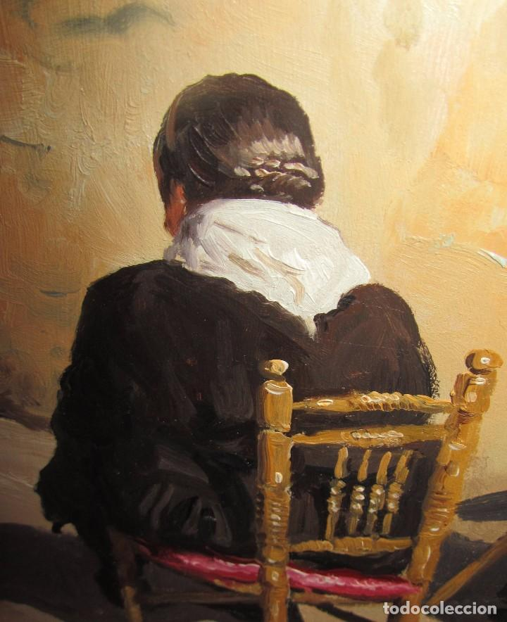 Arte: Óleo sobre tabla de Jose Luis Ramos Rodrigo, R. Rodrigo - Foto 5 - 140515766