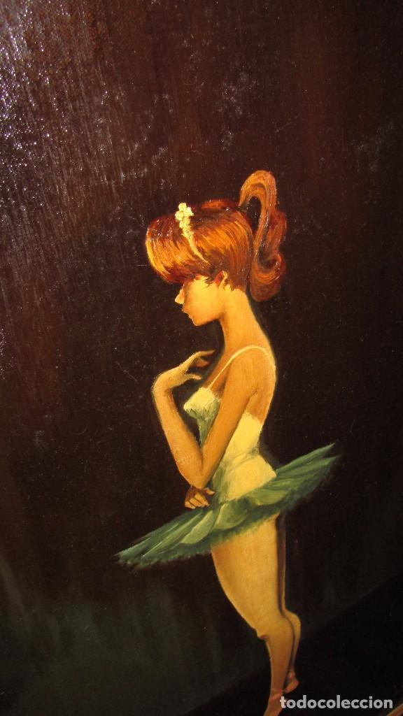 Arte: Óleo sobre lienzo de Joaquín Aracil García - J. Arga - El arte de la danza - Foto 4 - 140529530