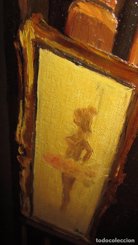 Arte: Óleo sobre lienzo de Joaquín Aracil García - J. Arga - El arte de la danza - Foto 9 - 140529530