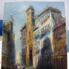 Arte: OLEO FIRMADO MORENO ORTEGA . Lote 140554802