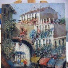 Arte: OLEO FIRMADO MORENO ORTEGA . Lote 140554970