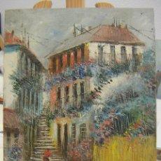 Arte: OLEO FIRMADO MORENO ORTEGA . Lote 140555038