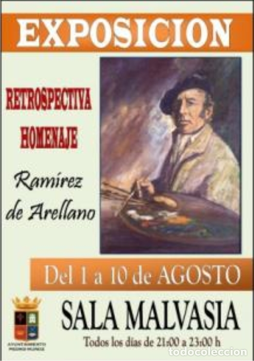 Arte: Óleo sobre tabla de Arellano - Foto 5 - 140503826