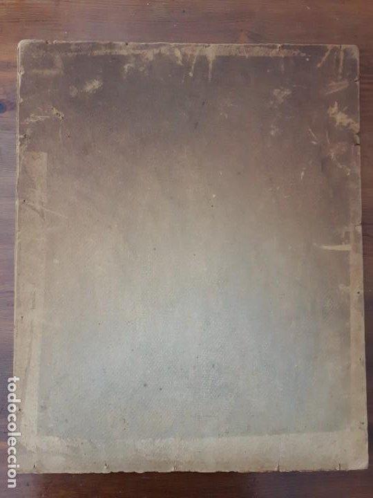Arte: Cuadro Óleo impresionista Frances Firmado estilo Degas - Foto 5 - 140590386