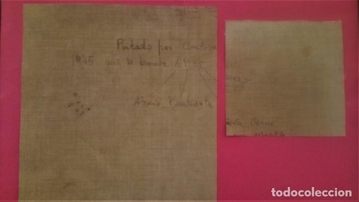 Arte: PINTURA,OLEO SOBRE TELA DE ANTONI MUNTAÑOLA CARNER,DIBUJANTE PATUFET Y EDITOR LIBROS INFANTILES 1945 - Foto 6 - 140591154