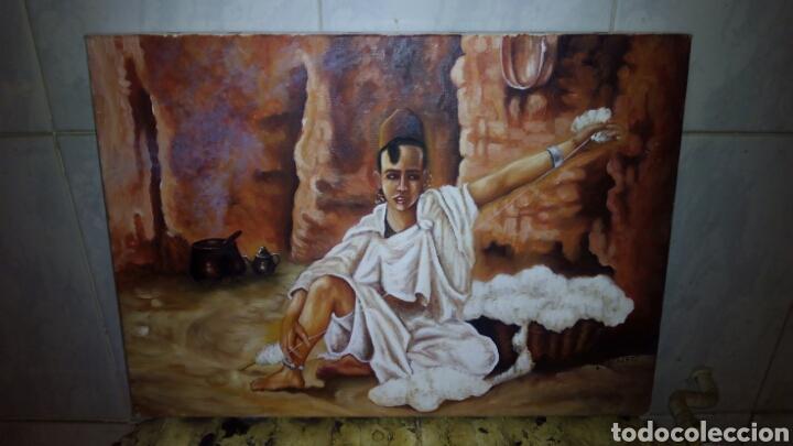 PINTURA OLEO SOBRE LIENZO 46 X 33 CM (Arte - Pintura - Pintura al Óleo Moderna sin fecha definida)