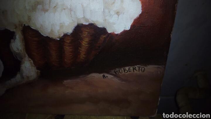 Arte: Pintura oleo sobre lienzo 46 x 33 cm - Foto 3 - 140620914