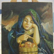 Arte: OLEO FIRMADO MOYA. Lote 140750022