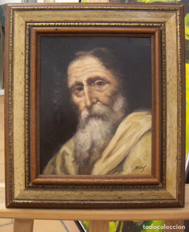 OLEO FIRMADO A.ANDRES CON MARCO (Arte - Pintura - Pintura al Óleo Contemporánea )