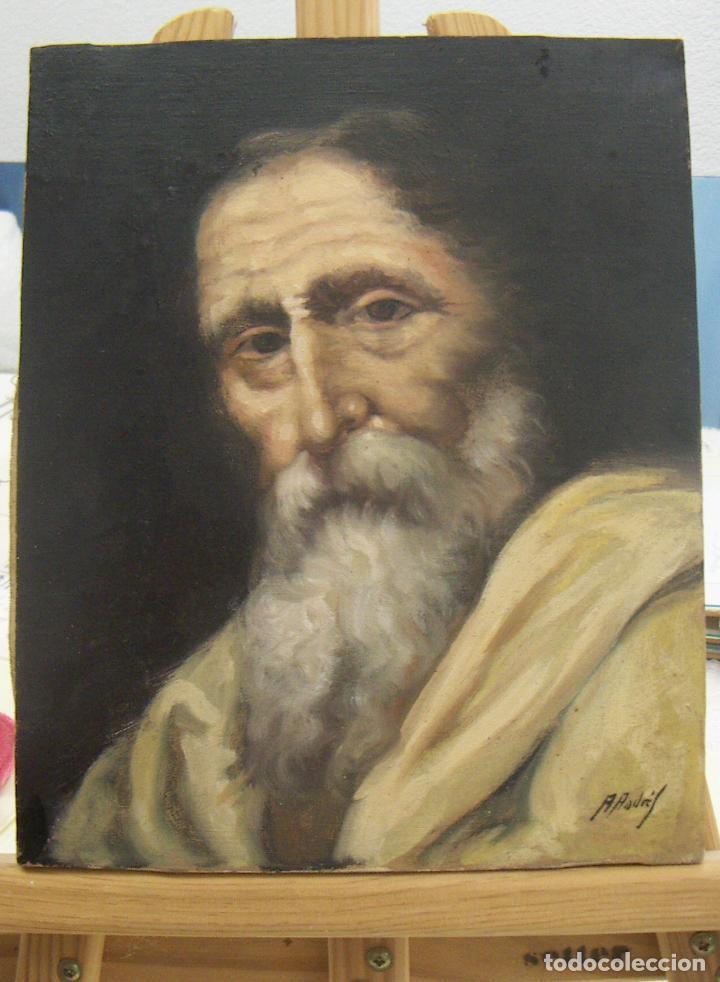 Arte: OLEO FIRMADO A.ANDRES CON MARCO - Foto 2 - 140751210