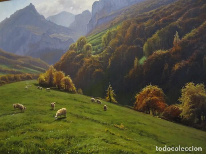 MARAVILLOSA PINTURA AL OLEO (CARLOS SEMPERE) (Arte - Pintura - Pintura al Óleo Contemporánea )
