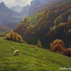 Arte: MARAVILLOSA PINTURA AL OLEO (CARLOS SEMPERE). Lote 140764874