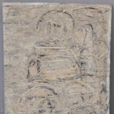 Arte: FIGURA, PINTURA AL ÓLEO SOBRE MADERA, SIN FIRMAR. 39X53CM. Lote 140852578