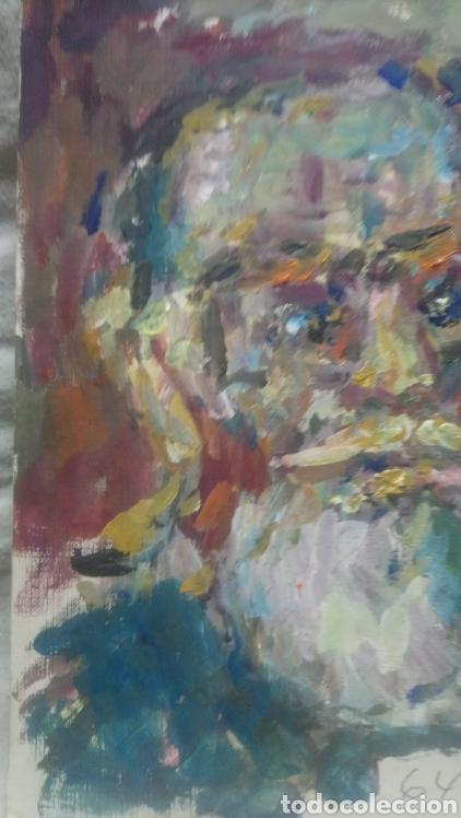 Arte: retrato antiguo hombre de pueblo - Foto 3 - 140895232