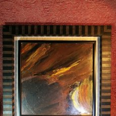 Arte: JOSE -MANUEL- VIOLA GAMON ( 1916 - 1987) ACRILICO SOBRE MADERA -REF-D. Lote 140912454