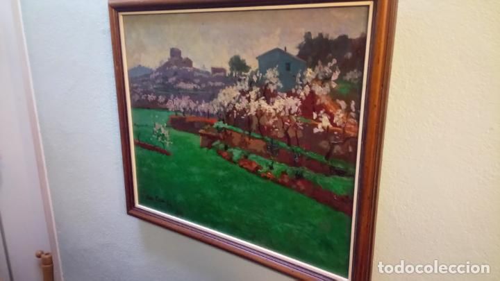 Arte: Antiguo cuadro pintado al oleo por el pintor Josep Vila closes de Manresa años 80-90 - Foto 2 - 140951046
