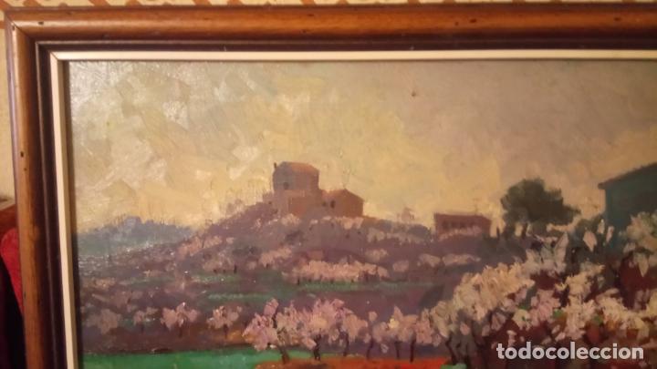 Arte: Antiguo cuadro pintado al oleo por el pintor Josep Vila closes de Manresa años 80-90 - Foto 3 - 140951046