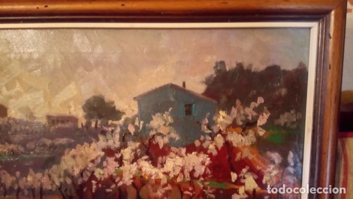 Arte: Antiguo cuadro pintado al oleo por el pintor Josep Vila closes de Manresa años 80-90 - Foto 4 - 140951046