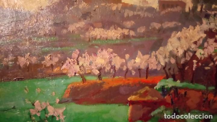 Arte: Antiguo cuadro pintado al oleo por el pintor Josep Vila closes de Manresa años 80-90 - Foto 5 - 140951046