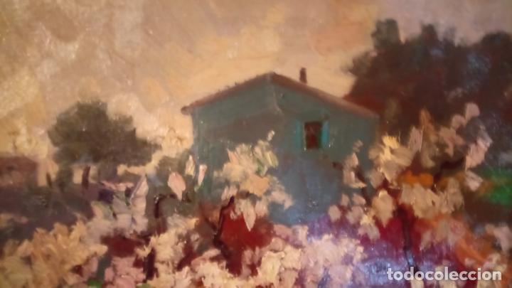 Arte: Antiguo cuadro pintado al oleo por el pintor Josep Vila closes de Manresa años 80-90 - Foto 6 - 140951046