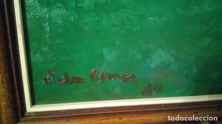 Arte: Antiguo cuadro pintado al oleo por el pintor Josep Vila closes de Manresa años 80-90 - Foto 7 - 140951046
