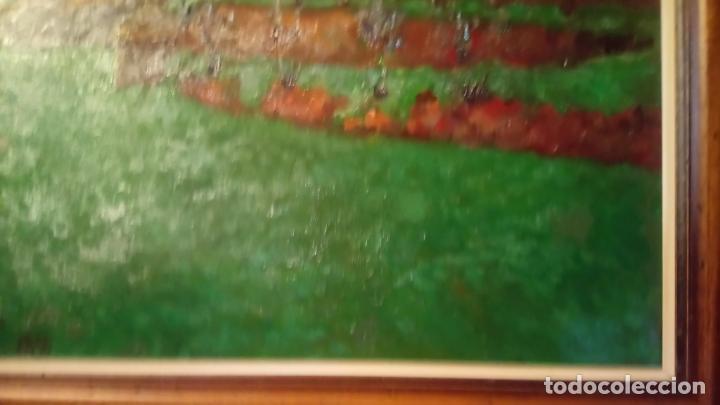 Arte: Antiguo cuadro pintado al oleo por el pintor Josep Vila closes de Manresa años 80-90 - Foto 9 - 140951046