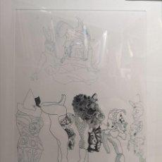 Arte: CASTILLO, JORGE. (PONTEVEDRA, 1933). GRABADO. Lote 140990910