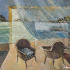 Arte: JUAN DE ÁBALOS. SAN SEBASTIÁN 22 DE SEPTIEMBRE DE 1947. MURMULLO DE AIRE LIMPIO. 24*35CM . Lote 141026022