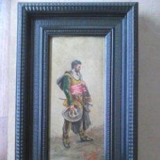 Arte: PINTOR FLAMENCO 1890 FIRMADO. Lote 141076982