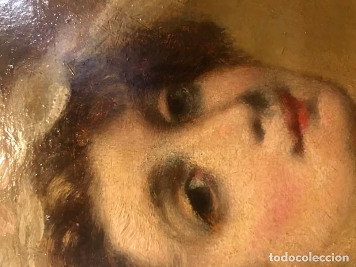 Arte: magistral retrato de dama con con cofia - Foto 10 - 141115706