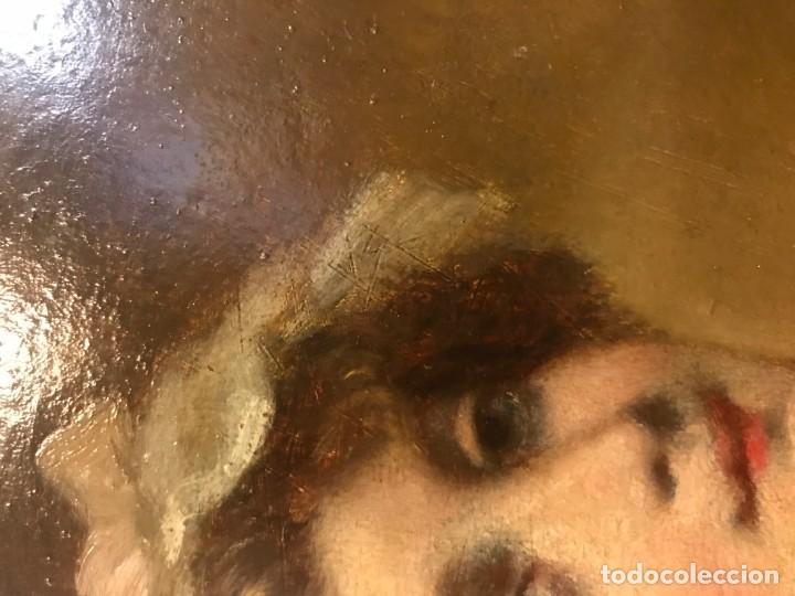 Arte: magistral retrato de dama con con cofia - Foto 12 - 141115706