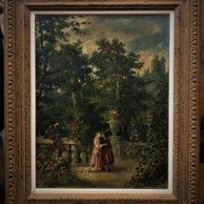Arte: ESCENA ROMANTICA ROMEO Y JULIETA. Lote 141117366
