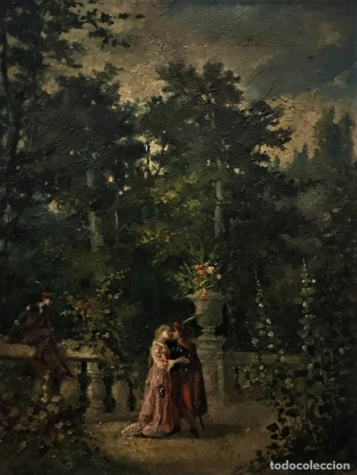 Arte: escena romantica romeo y julieta - Foto 2 - 141117366