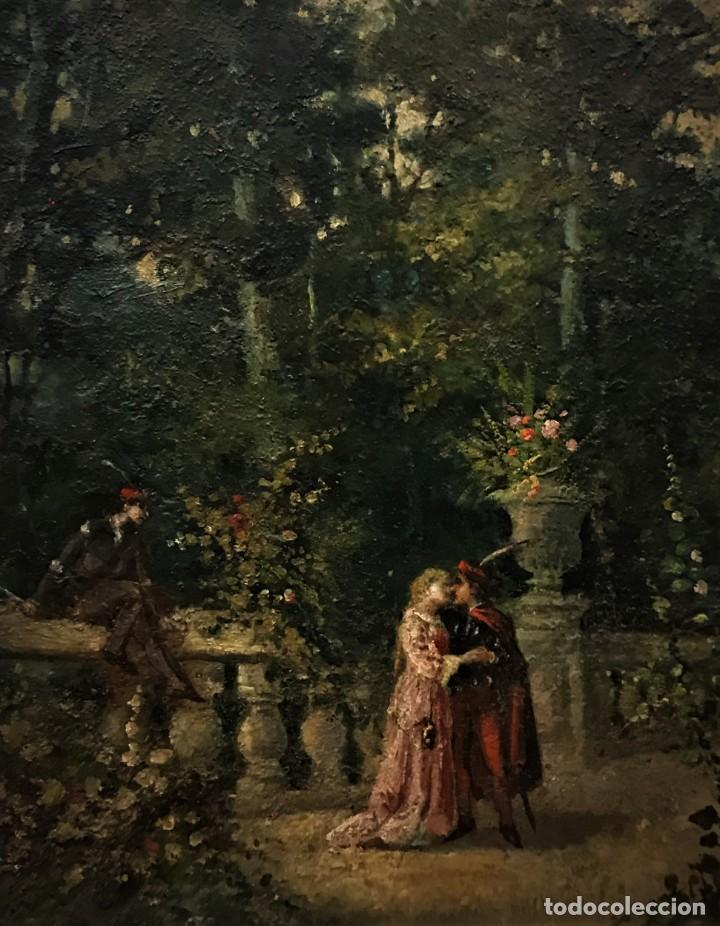 Arte: escena romantica romeo y julieta - Foto 3 - 141117366