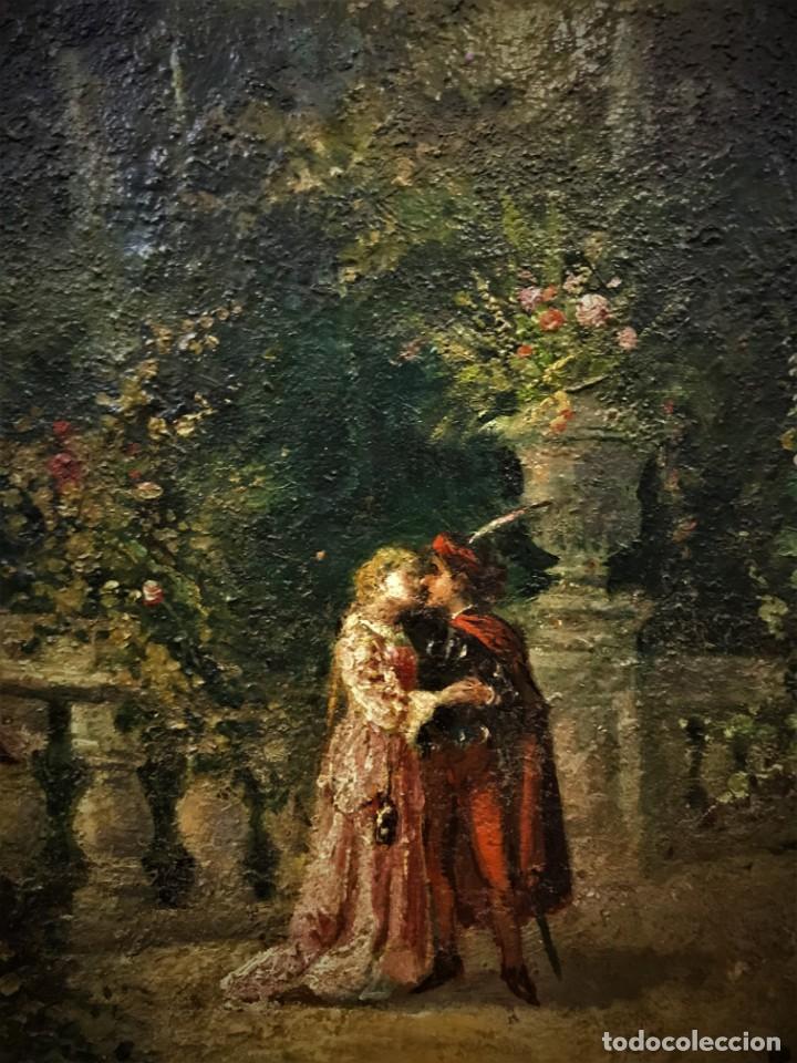 Arte: escena romantica romeo y julieta - Foto 6 - 141117366