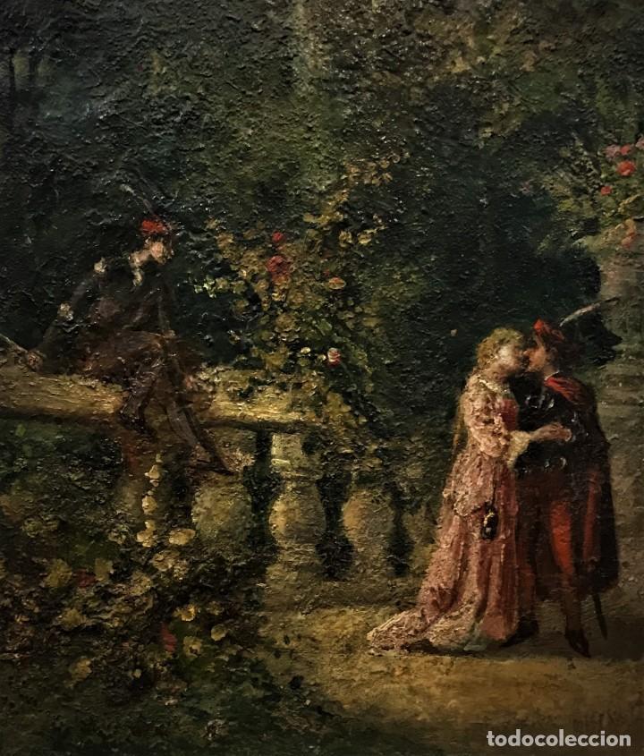 Arte: escena romantica romeo y julieta - Foto 11 - 141117366