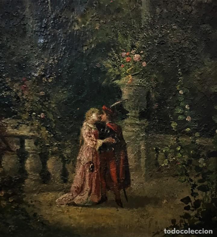 Arte: escena romantica romeo y julieta - Foto 12 - 141117366
