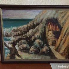 Arte: PINTURA EN ÓLEO DEL CANDIDO RODRIGUEZ TORRELAVEGA. Lote 141137502