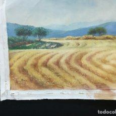 Arte: PAISAJE TRIGAL POR EL ARTISTA TRILLO. Lote 141256454