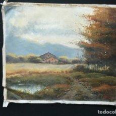 Arte: PAISAJE DEL CONOCIDO ARTISTA DE PAISAJES TRILLO DE 55X45. Lote 141258310