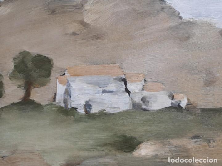 Arte: Lago Rivera, Antonio. (Coruña 1916-Paris 1990). Paisaje - Foto 2 - 107082307