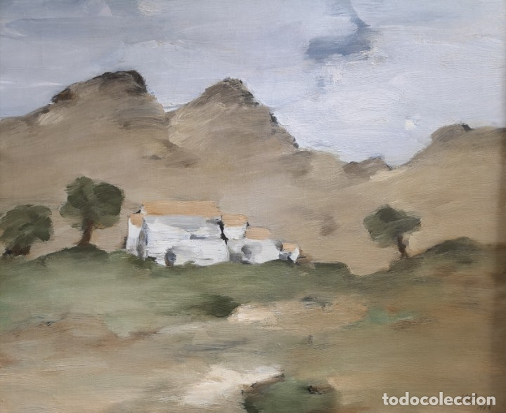 LAGO RIVERA, ANTONIO. (CORUÑA 1916-PARIS 1990). PAISAJE (Arte - Pintura - Pintura al Óleo Contemporánea )