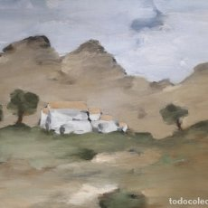 Arte: LAGO RIVERA, ANTONIO. (CORUÑA 1916-PARIS 1990). PAISAJE. Lote 107082307