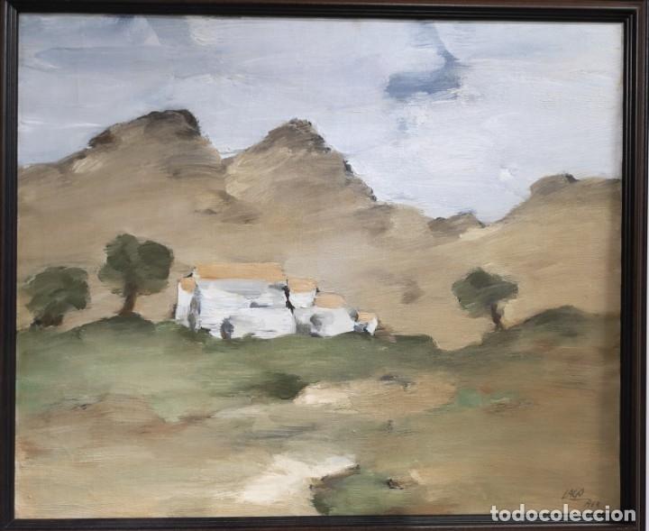 Arte: Lago Rivera, Antonio. (Coruña 1916-Paris 1990). Paisaje - Foto 3 - 107082307