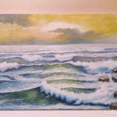 Arte: MARINA VALENCIANA II. MARINA. 55X33.. Lote 141317229