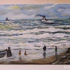 Arte: MARINA VALENCIANA III. MARINA. 55X33.. Lote 141318910