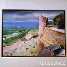 Arte: ACUARELA DE JOSEP MARFA GUARRO - BARCELONA -. Lote 141445518